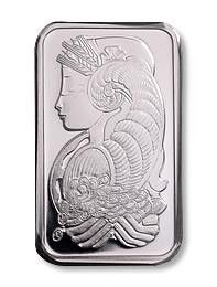 10 Ounce Platinum Bar. Each of these bars contains ten ounce of .999 fine platinum. Ten ounce bars are very popular with investors and are easily bought, sold, and stored.
