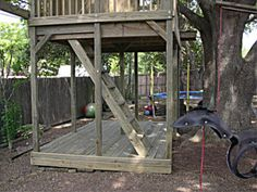 treehouse fort - Google Search