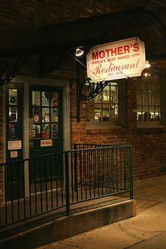 Mother's Restaurant, New Orleans: best bread pudding ever! ~Absolutely THE best breakfast in New Orleans!~J.