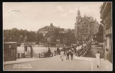 620299) AK Königsberg Ostpreußen block zur Stadthalle gelaufen 1929