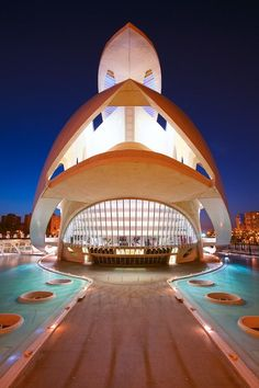 The Valencia Opera House, Queen Sofia Palace of The Arts, Spain | Eric Rousset