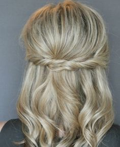 Simple curls with a twist!