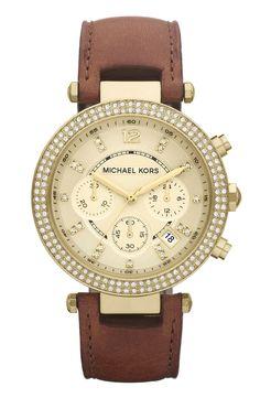 Michael Kors 'Parker' Chronograph Leather Watch   Nordstrom