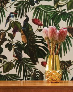 Overview Looking to create designs that resemble a modern take on Chinoiserie, Witch and Watchman is about bold prints that make a statement. Every element in each design has been originally painted b