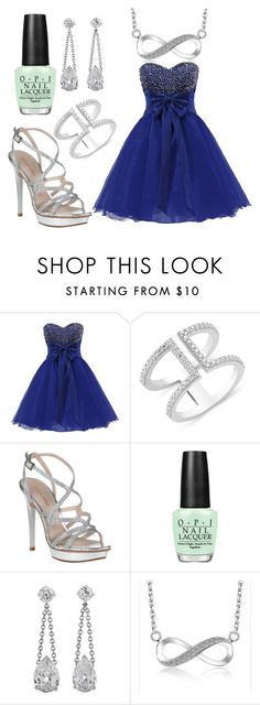 """Prom"" by beauty-queens-always ❤ liked on Polyvore featuring Pelle Moda and OPI"