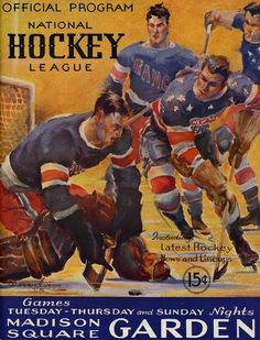 Nitzy's Hockey Den: Game Report: Dec.15, 1935 New York Americans v Chicago
