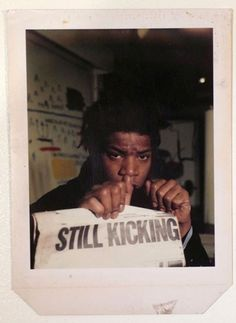 Basquiat - saw an exhibit of his in Italy in 1999
