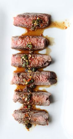 Beef with Spicy Thai Dipping Sauce – Nam Jim Jaew