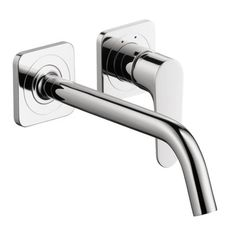 Axor Axor Citterio M Single Handle Wall Mounted Tub Only Faucet Trim Finish: Brushed Nickel