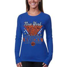 Memorabilia Hot Sale New New York Knicks Womens Size L-xl Orange Sportiqe Shirt Msrp High Quality And Low Overhead Basketball