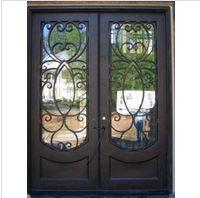 Rectangle wrought iron door - www.irondoor.cn