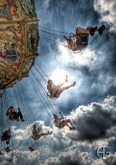 Swings at the Carnival