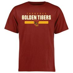 Tuskegee Golden Tigers Team Strong T-Shirt - Cardinal