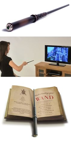 Harry Potter fans will definitely go crazy over this stuff that will turn their movie fantasy into reality. Check it out==> | Kymera Magic Wand Remote Control | http://gwyl.io/kymera-magic-wand-remote-control/