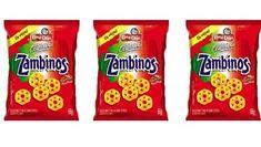 Salgadinho Zambinos.   32 sabores inesquecíveis da sua infância que foram extintos