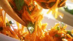 Salade de carottes à la coriandre - Recettes - À la di Stasio
