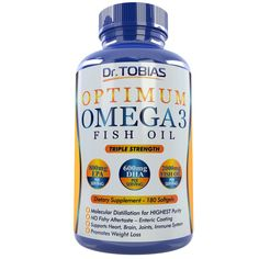 Dr. Tobias Omega 3 Fish Oil Triple Strength 180 Caps >>> To view further, visit : Garcinia cambogia