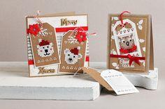 Borduren op labels Small Cross Stitch, Cross Stitch Cards, Cross Stitching, Cross Stitch Embroidery, Cross Stitch Patterns, Christmas Gift Tags, Christmas Cross, Hama Beads Design, Cross Crafts