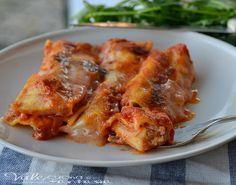 Cannelloni con la carne ricetta primo piatto un classico primo piatto sempre apprezzato da tutti ideale per la domenica e per ogni occasione