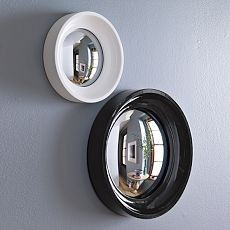 convex mirrors by West Elm unbreakable security mirrors