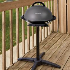 Electric Grills Outdoor Foreman Mini Barbecue Grill Stand and Nonstick Coating #GeorgeForemanGrills