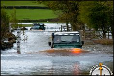 Flooded Roads, Train, Zug, Strollers