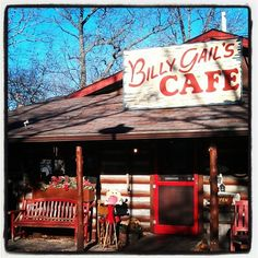 Great shot of Billy Gail's Cafe by our friend @emily_neuman! #Branson