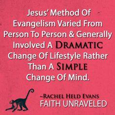 5.9.14 - Jesus, God in Sandals Rachel Held Evans:  FaithGateway