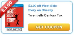 $3.00 off West Side Story on Blu-ray
