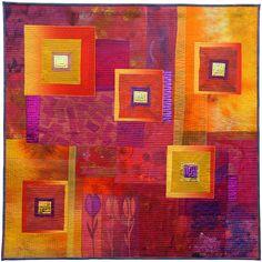 Rijkdom | Ineke van Unen – art quilts – textile art