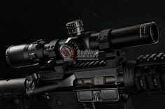 RWA 2.5 - 10 x 26 Rifle Scope (Red / Green Mil-Dot Reticle)