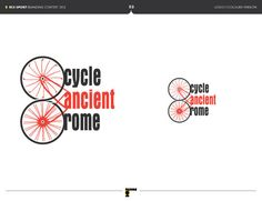 Cycle Ancient Rome by Dimitris Sakkas, via Behance