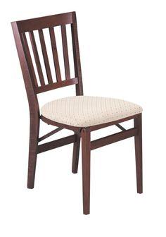 Schoolhouse Folding Chair in Warm Cherry Finish