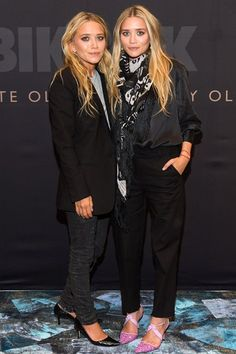 Bik Bok Launch, Norway - August 7 2013 Mary-Kate and Ashley Olsen.