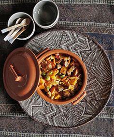Herfststoofpot met worstjes en groente
