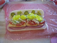 "Kmart Sub's - a Blast from the Past! ""Attention all Kmart shoppers.up at the front of the store in our delicatessen.we're having a Blue Light special on our submarine sandwiches. Honey Roast Ham, Sub Rolls, Deli Counter, Food Counter, Roasted Ham, Sammy, Stuffed Banana Peppers, Wrap Sandwiches, Copycat Recipes"