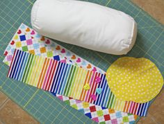 Make a bolster Pillow cover.. am going to have to do for the Master bdroom.