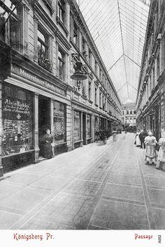 Passage Кёнигсберг.. Королевская улица.. 1890 г. Главный вход