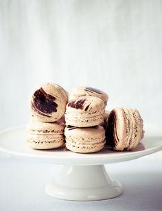 Coffee and Chicory Macarons: