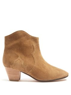 Étoile Dicker 55mm suede ankle boots   Isabel Marant   MATCHESFASHION.COM UK