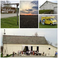 Wedding Party - Homemade, Barn Style