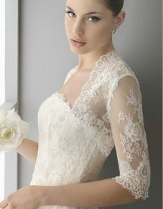 how to vintage romantic lace wedding, lace bolero jacket