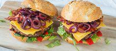 Jalapeno Burger met Old Amsterdam Cheese en uiencompote (Dutch)
