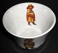 RARE original antique UNEEDA BISCUIT cup w/pic Uneeda Biscuit BOY - NABISCO #NatlBiscuitColaterNABISCO