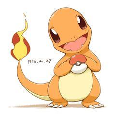 CHARMANDER WITH A POKÉBALL!!!!!!!!!!!!!!!!!!!!!!!!!!!!!! SOOOOOO…