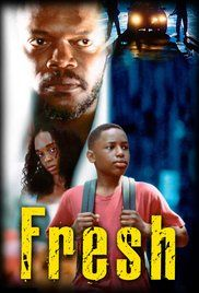 Fresh Directed by Boaz Yakin. With Sean Nelson, Giancarlo Esposito, Samuel L. Death and violence anger a drug courier, who sets his employers against each other. Black Tv Shows, Old Tv Shows, Movies And Tv Shows, Sad Movies, Movies To Watch, Saddest Movies, Fresh Movie, Gangster Movies, Plus Tv