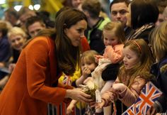 4/5/13 Kate Middleton and Prince William continue their tour of Scotland.