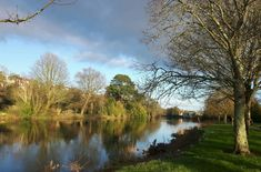 River Lee by Fitzgerlads Park, Cork City, Ireland