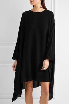 Valentino | Silk-georgette mini dress | NET-A-PORTER.COM