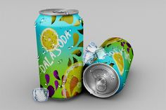 Check if you're looking for Soda Can PSD Mockup Free Template to showcase your product design previews.